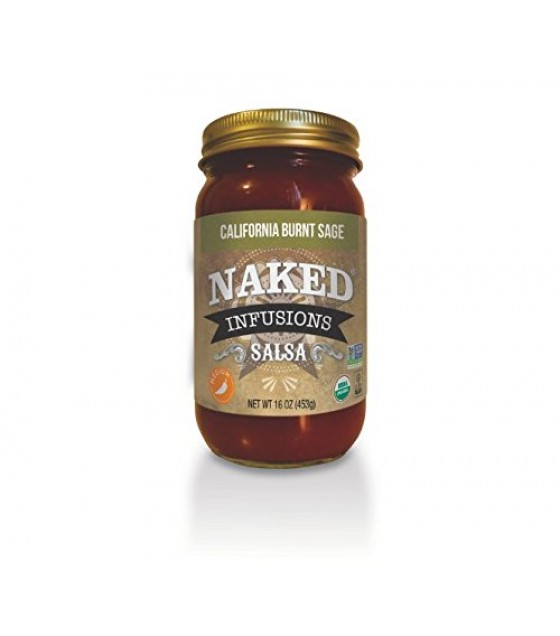 [Naked Infusions] Gourmet Salsa California Burnt Sage  At least 95% Organic