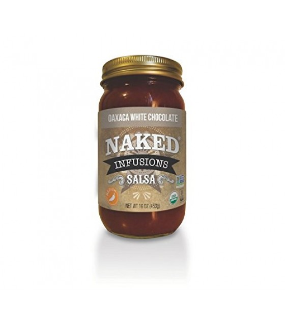 [Naked Infusions] Gourmet Salsa Oaxaca White Chocolate  At least 95% Organic