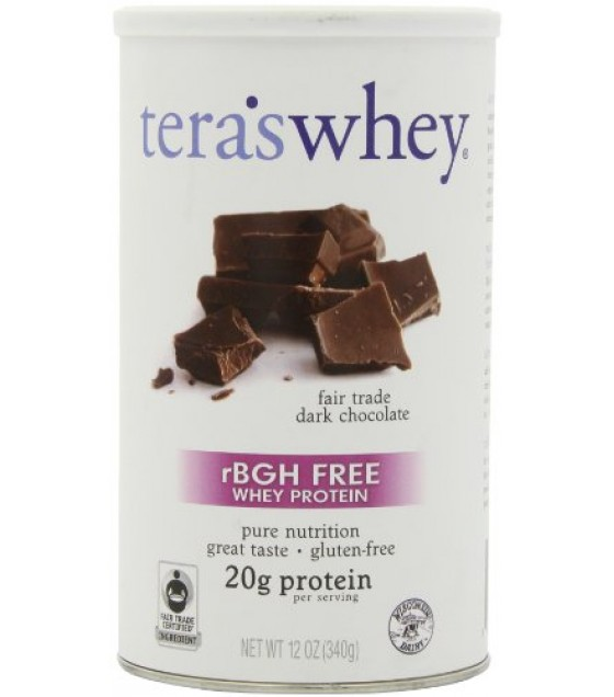 [Teras Whey] rBGH Free Cow Whey Dark Chocolate, Fair Trade