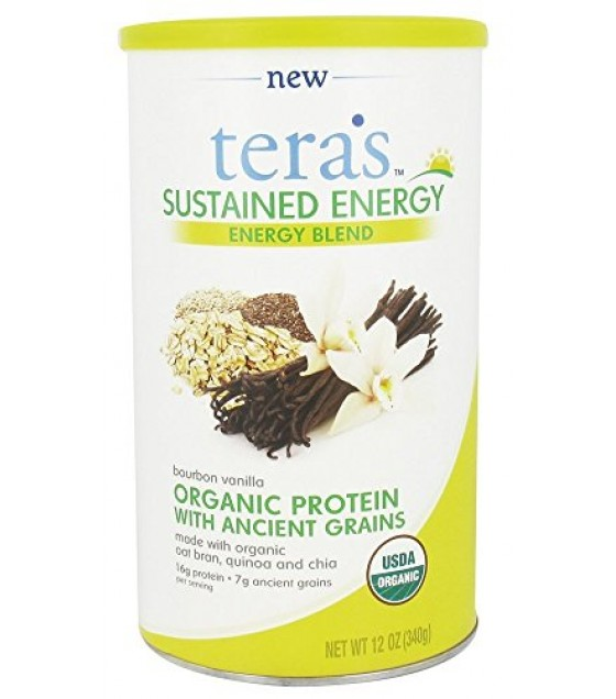 [Teras] Healthy Energy Blend Sustained Energy, Bourbon Vanilla  At least 95% Organic