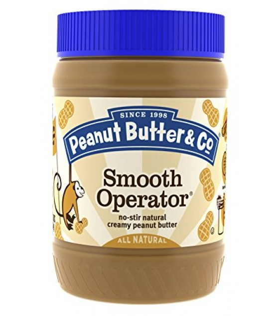 [Peanut Butter & Co] Preserves/Honey/Syrups/Spreads/Butter Smooth Operator