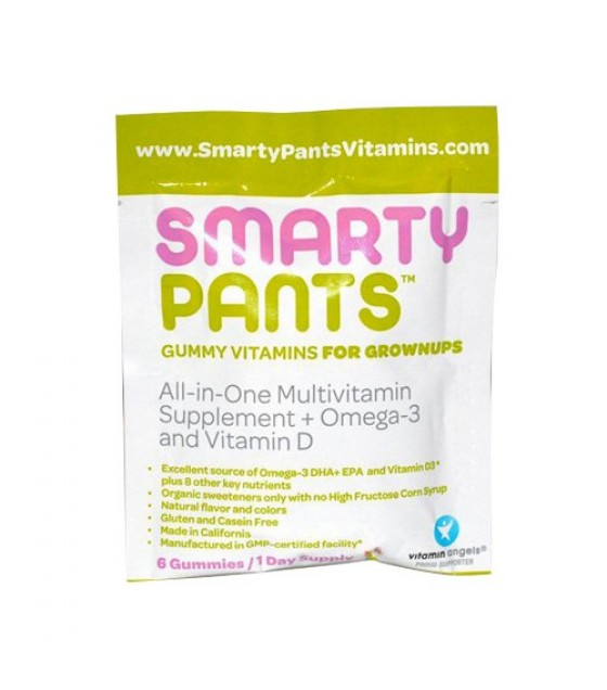 [Smarty Pants] Gummy Vitamins On-The-Go! Adult Complete Multi+Omega3+Vit D