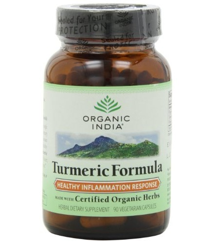 [Organic India] Herbal Dietary Supplements Turmeric Formula  At least 70% Organic
