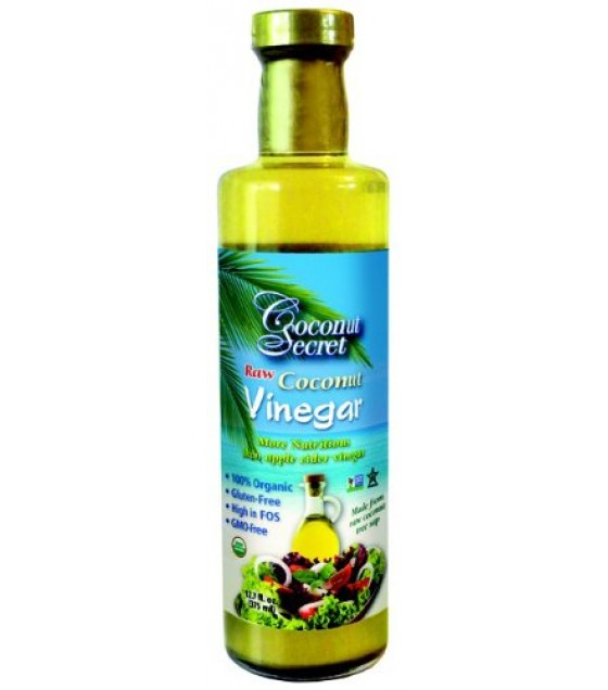 [Coconut Secret]  Vinegar, Raw Coconut  100% Organic