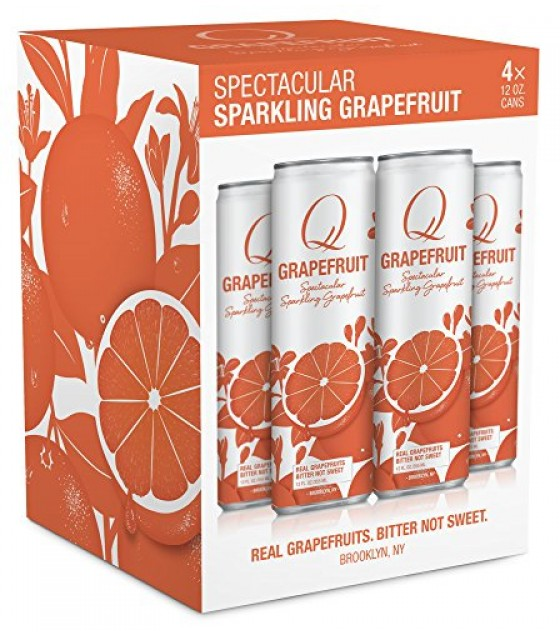 [Q Drinks] Slim Can Spectacular Sparkling Grapefruit
