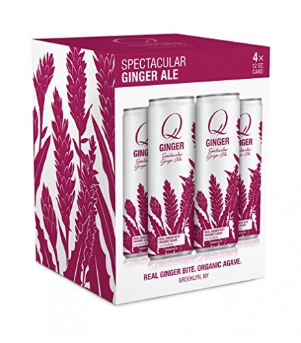 [Q Drinks] Slim Can Spectacular Ginger Ale