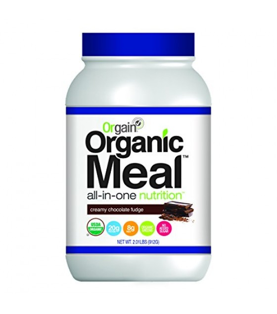 [Orgain] Meal Powder Creamy Chocolate Fudge  At least 95% Organic
