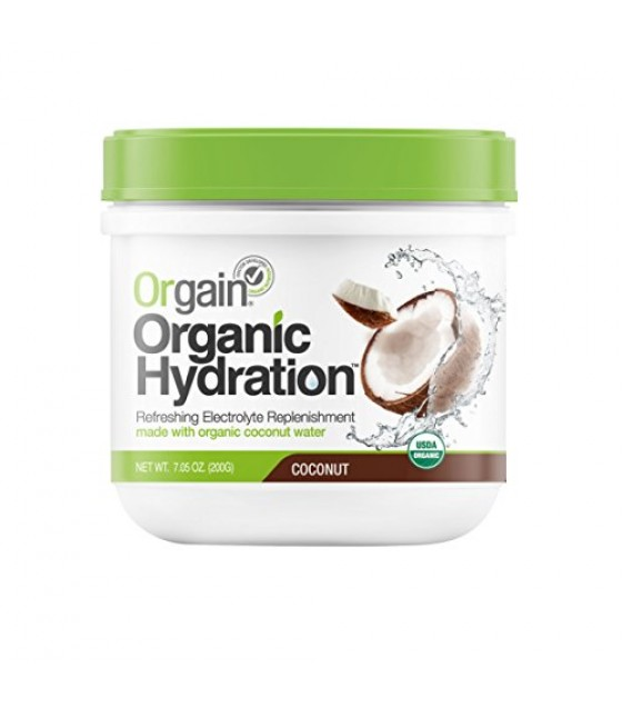 [Orgain] Organic Hydration Powder Coconut  At least 95% Organic