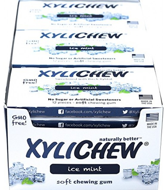 [xylichew] Ctr Ds,gum,ice Mint,12pc