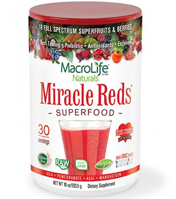 [Macro Life Naturals] Miracle Reds Canister