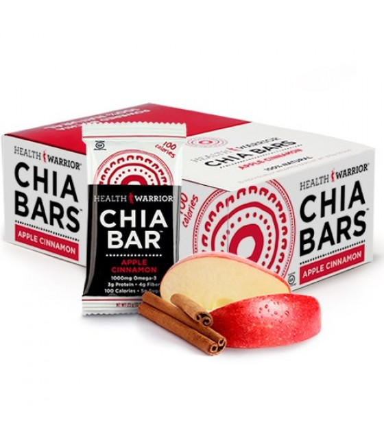 [Health Warrior] Chia Bars Apple Cinnamon
