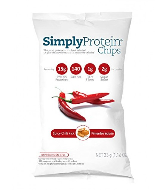 [Simply Protein                ] PROT CHIPS,CHILI