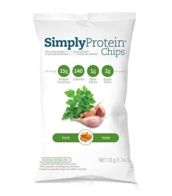 [Simply Protein                ] PROT CHIPS,HERB
