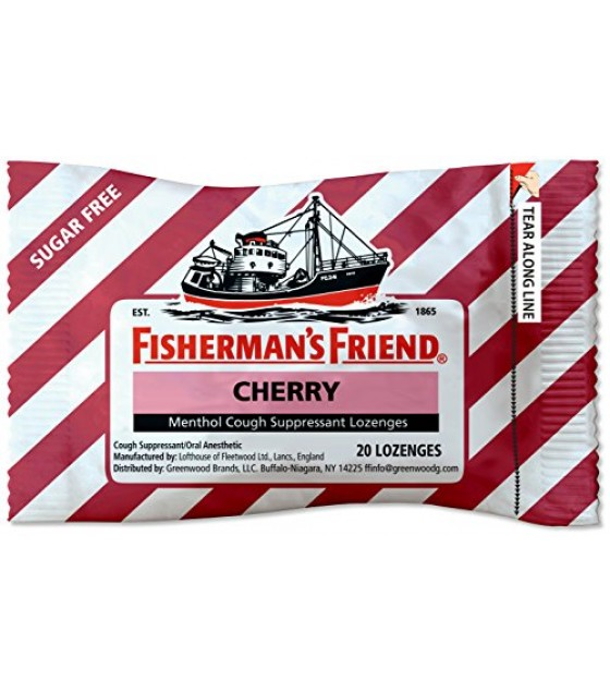 [fisherman's Friend] Loz,ff,cherry,sugar Free