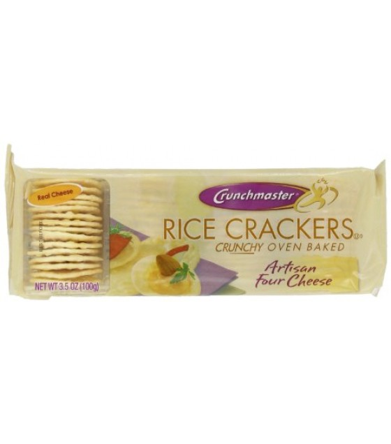 [Crunchmaster] Rice Crackers Artisan Four Cheese