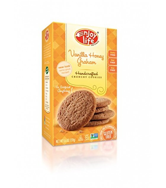 [Enjoy Life] Cookies Crunchy Vanilla Honey Graham