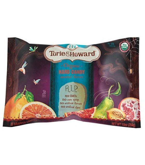 [Torie & Howard]  Halloween Bags, Asst Flavors  At least 95% Organic