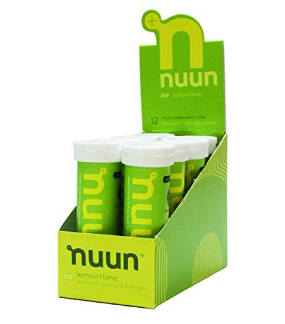 [Nuun Active Hydration] Electrolyte Sports Drink Tabs Lemon Lime