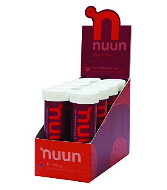 [Nuun Active Hydration] Electrolyte Sports Drink Tabs Tri Berry