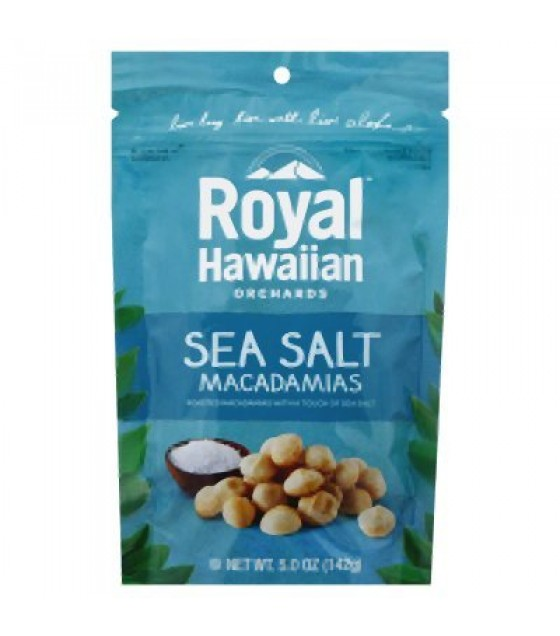 [Royal Hawaiian Orchards] Macadamia Nuts Sea Salt