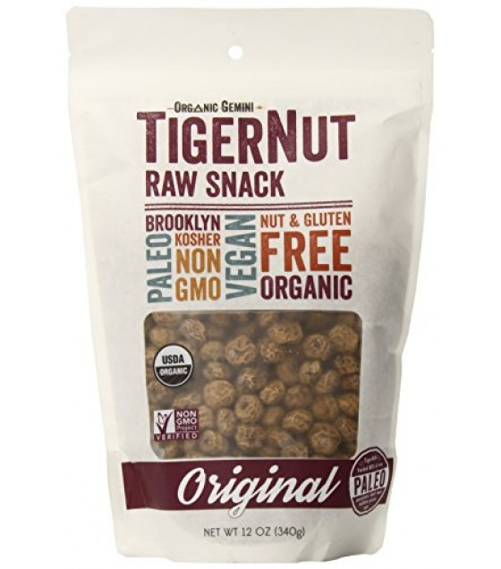[Organic Gemini]  Raw Snack, Original  At least 95% Organic