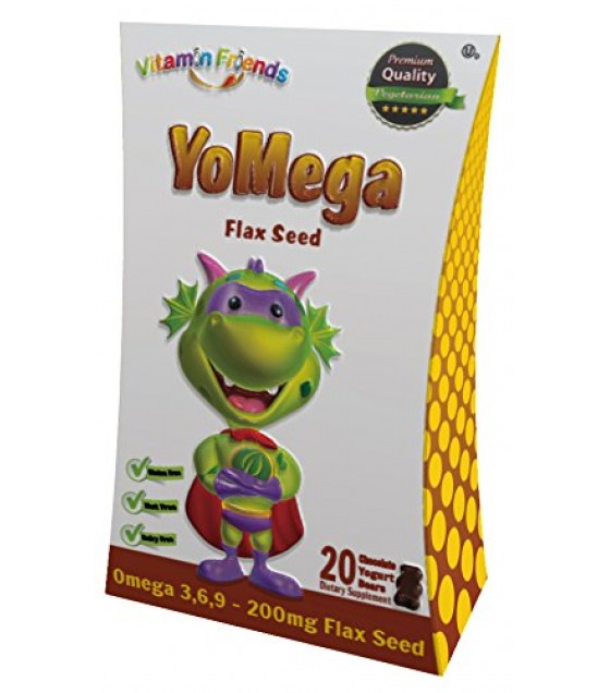 [Vitamin Friends]  YoMage Flax Seed Chocolate