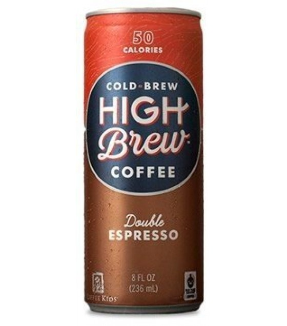 [High Brew Coffee]  Double Espresso, RTD