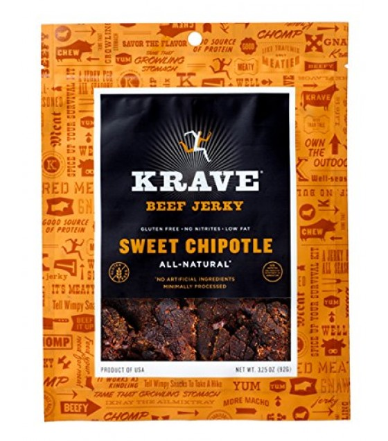 [Krave] Jerky Beef, Sweet Chipotle