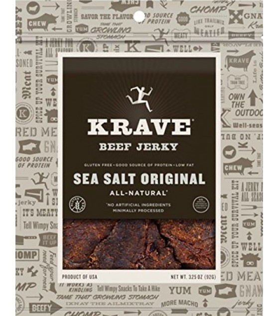 [Krave] Jerky Beef, Sea Salt Original