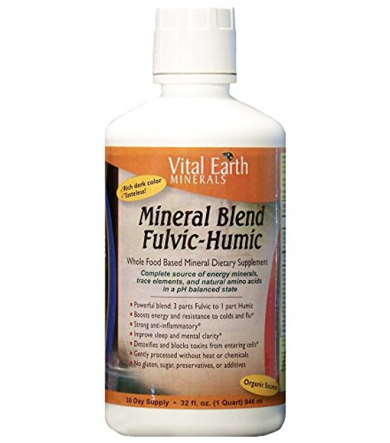 [Vital-Earth]  Fulvic-Humic Blend