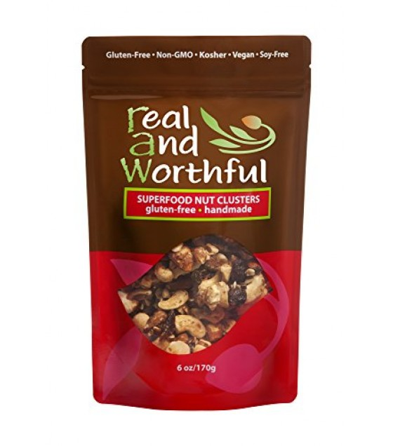 [R.A.W. Real And Wonderful]  Superfood Nut Cluster, GF
