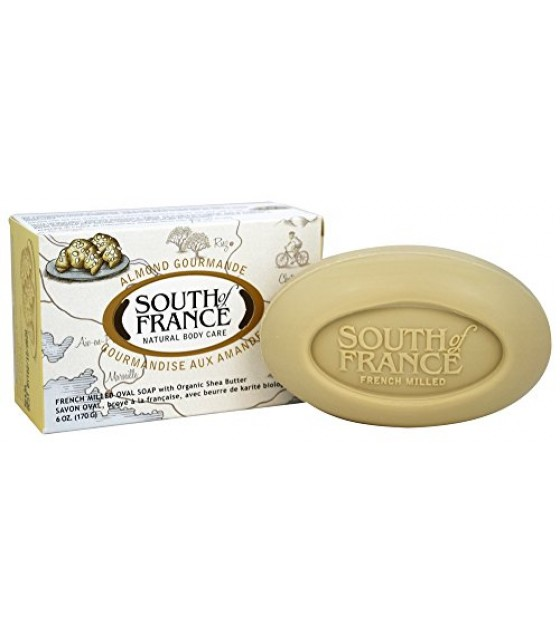 [South Of France] Natural French Milled Soaps Almond Gourmande