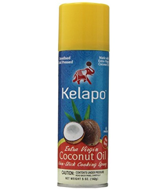 [Kelapo] Coconut Oil Extra Virgin, Spray