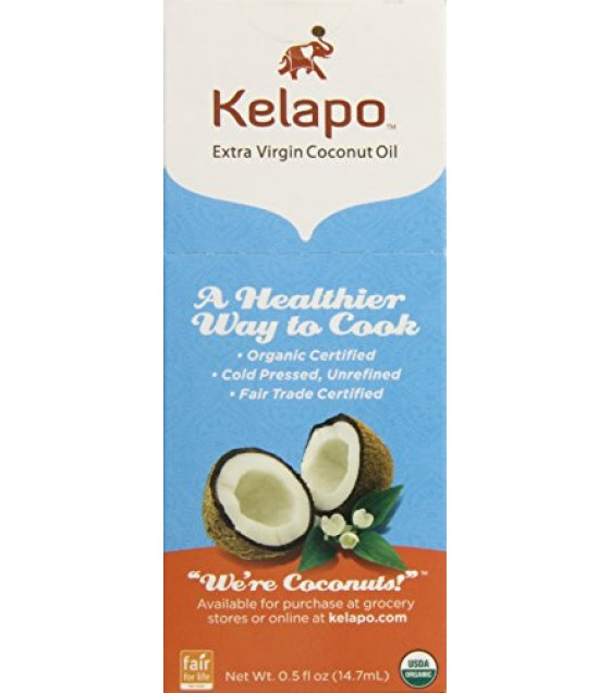 [Kelapo] Coconut Oil Extra Virgin, Pouch  At least 95% Organic