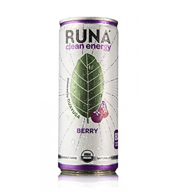 [Runa] Drink-Clean Energy Berry  At least 95% Organic