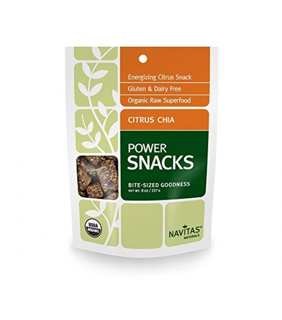 [Navitas Naturals]  Power Snack, Citrus Chia  At least 95% Organic