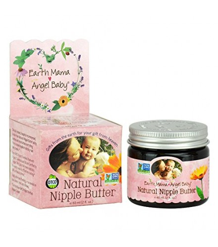 [Earth Mama Angel Baby] Breast Feeding Natural Nipple Butter