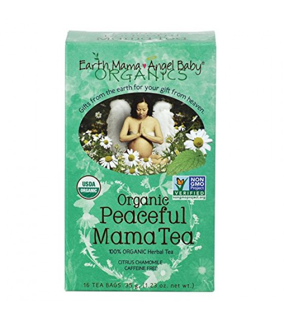 [Earth Mama Angel Baby] Pregnancy Products Peaceful Mama Tea  100% Organic