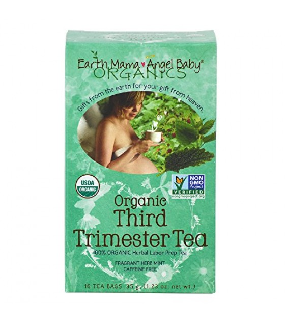 [Earth Mama Angel Baby] Pregnancy Products Third Trimester Tea  100% Organic