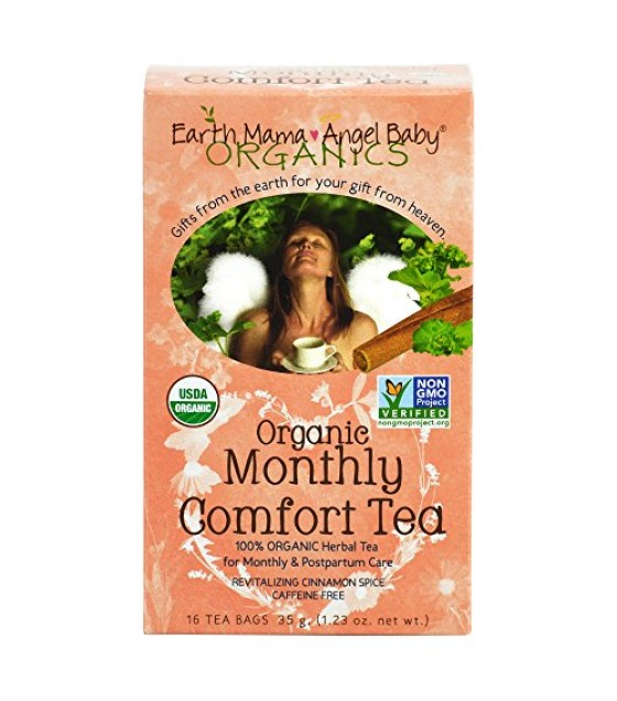 [Earth Mama Angel Baby] TEA,OG1,MONTHLY COMFORT  100% Organic