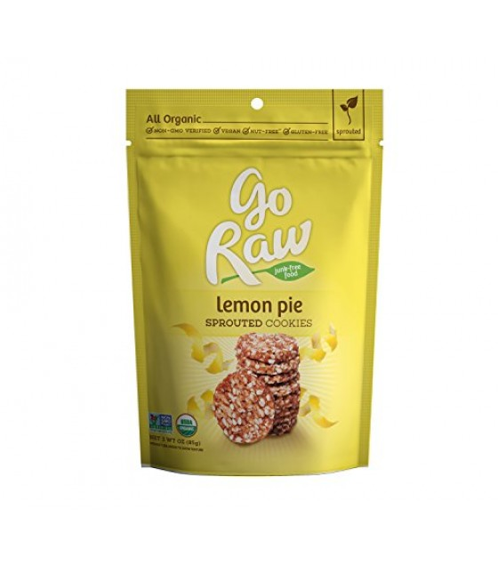 [Go Raw] Sprouted Cookies Lemon Pie  At least 95% Organic