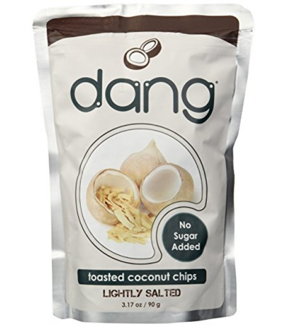 [Dang] Toasted Coconut Chips Lightly Salted, Unsweetened