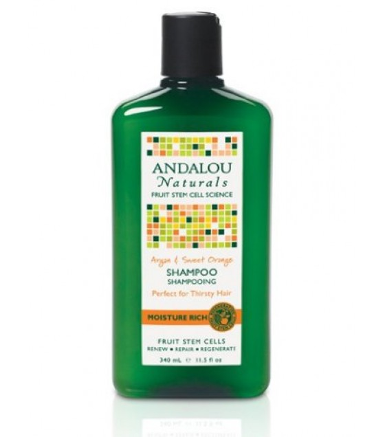 [Andalou Naturals] Shampoos Moisture, Argan & Sweet Orange