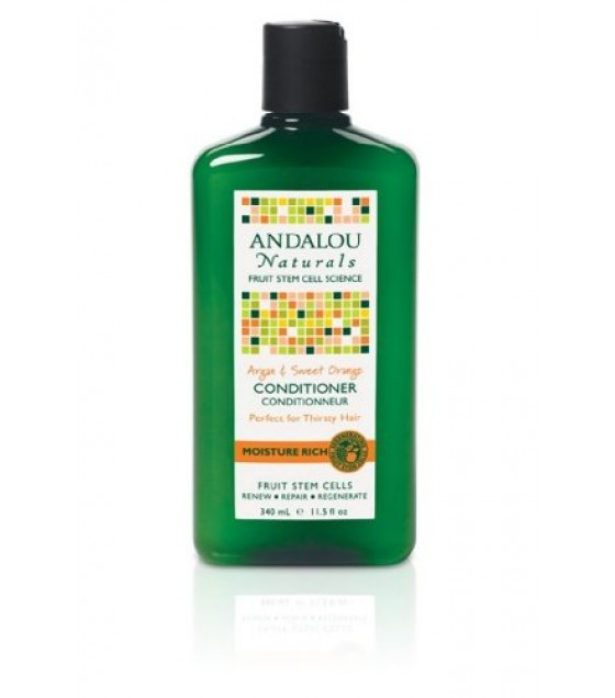 [Andalou Naturals] Conditioners Moisture, Argan & Sweet Orange