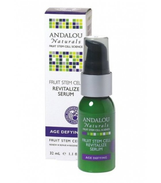 [Andalou Naturals] Facial Care Revitalize Serum, Fruit Stem Cell