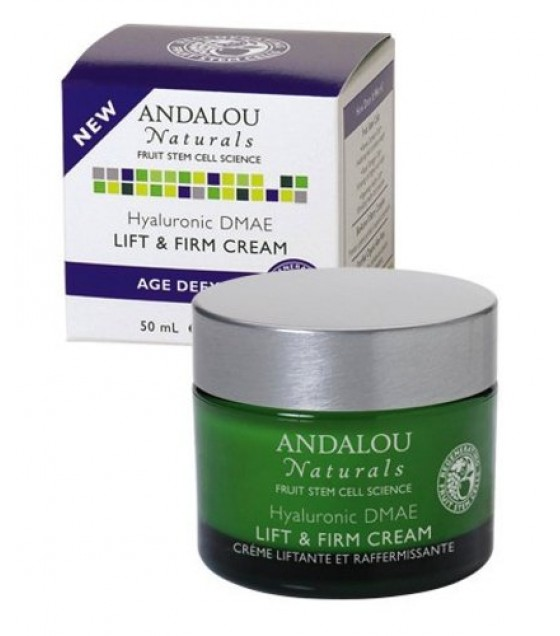 [Andalou Naturals] Facial Care Hyaluronic DMAE Lift/Firm Cream