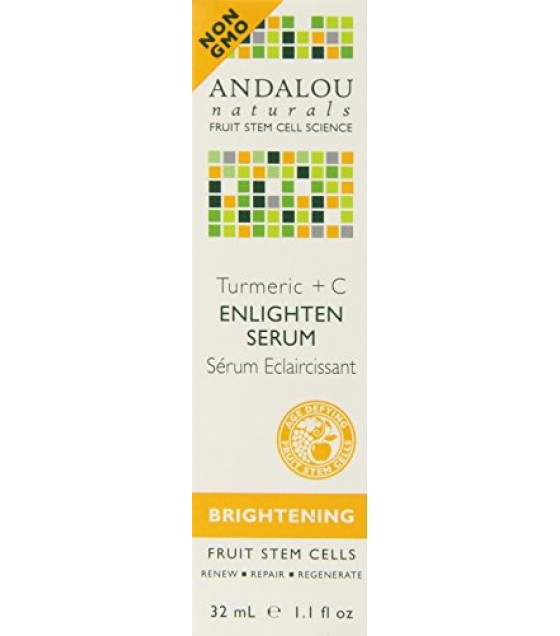 [Andalou Naturals] Facial Care Tumeric +C Enlighten Serum