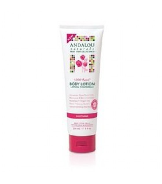 [Andalou Naturals]  Body Lotion, 1000 Roses