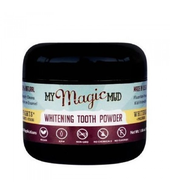 [my Magic Mud] Tooth Powder,whtning Dtox