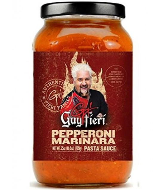 [Guy Fieri] Pasta Sauces Pepperoni Marinara